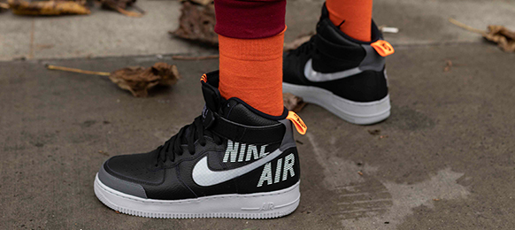 NIKE AIR FORCE 1 HIGH COMES FROM THE FUTURE AND IT'S LOOKING FOR THE BRAVE ONES