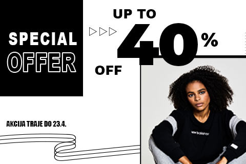 Special offer- up to 40%
