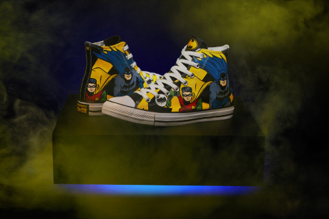 IN HONOR OF BATMAN: New Converse Capsule Collection