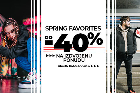 Spring Favourites- up to 40%