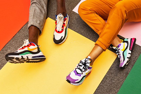 COLORFUL ART IN SNEAKER CULTURE – NIKE AIR MAX 270 REACT