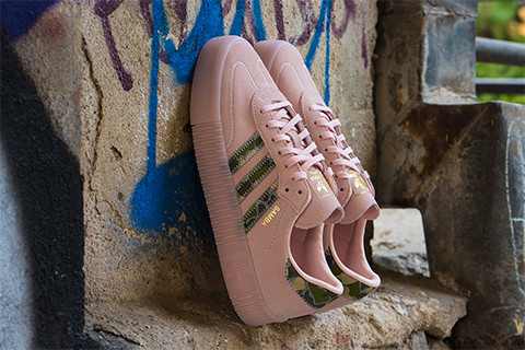 DANCE IN LIFE WITH ADIDAS SAMBA ROSE