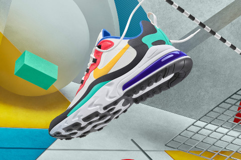 WHEN COMFORT MEETS TRUE ART: Nike Air Max 270 React