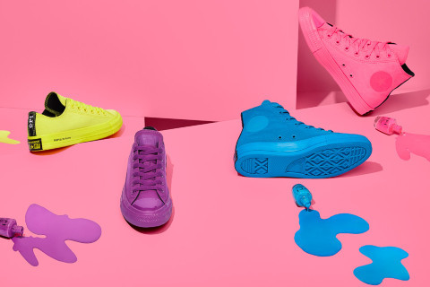 GET LOST IN NEONS: Converse x OPI Capsule Collection
