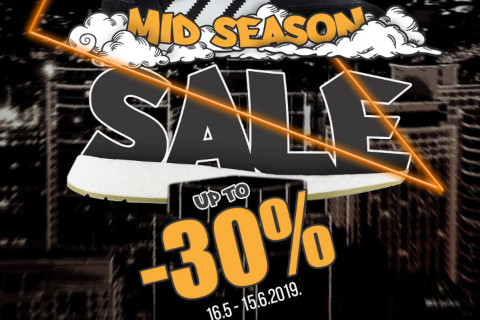 MID SEASON SALE IS ON: Up to -30%