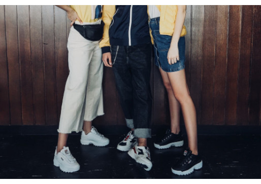 FILA IS BACK IN THE GAME