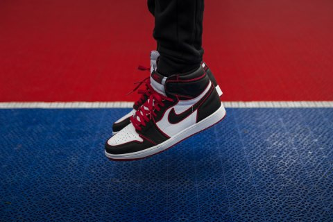 "NIKE AIR JORDAN 1 ""BLOODLINE"": WHO SAID THE MAN CANNOT FLY?"