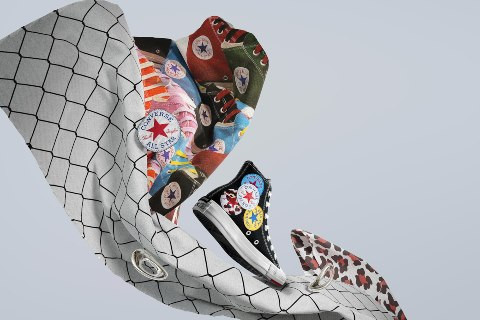 TWIST THE CLASSICS PLAY WITH NEW CHUCK TAYLOR ALL STAR