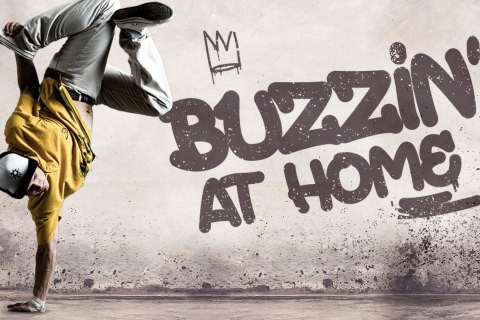 THE #BUZZINGATHOME INSTAGRAM CHALLENGE IS ON