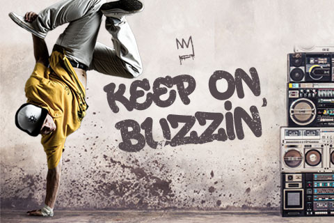 KEEP ON BUZZIN': CHECK OUT OUR NEW DANCE TUTORIAL