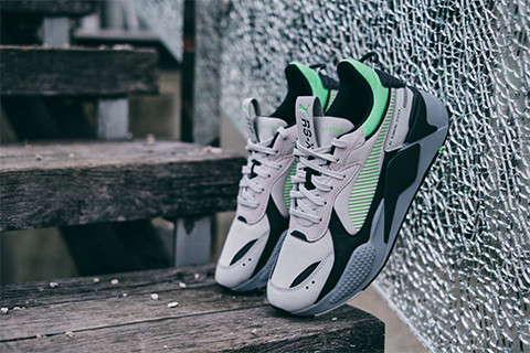 CHOOSE RETROFUTURISM AND PUMA RS-X MIX