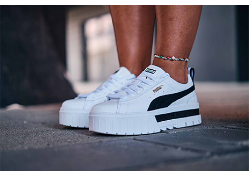 Complete your look and give a unique touch with these Puma sneakers.