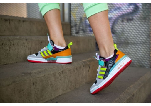 CHOOSE COLORFUL STYLES, CHOOSE ADIDAS FORUM LOW