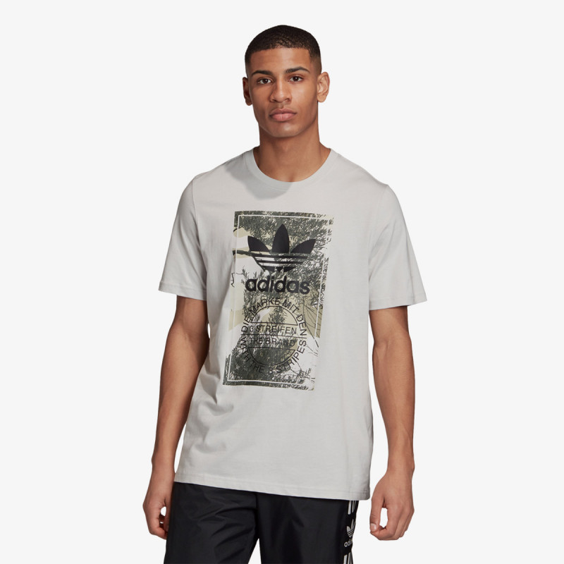 adidas Tricouri CAMO TONGUE TEE
