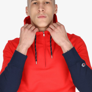 CHAMPION Dukserica Champion  Half Zip Hooded Sweatshirt