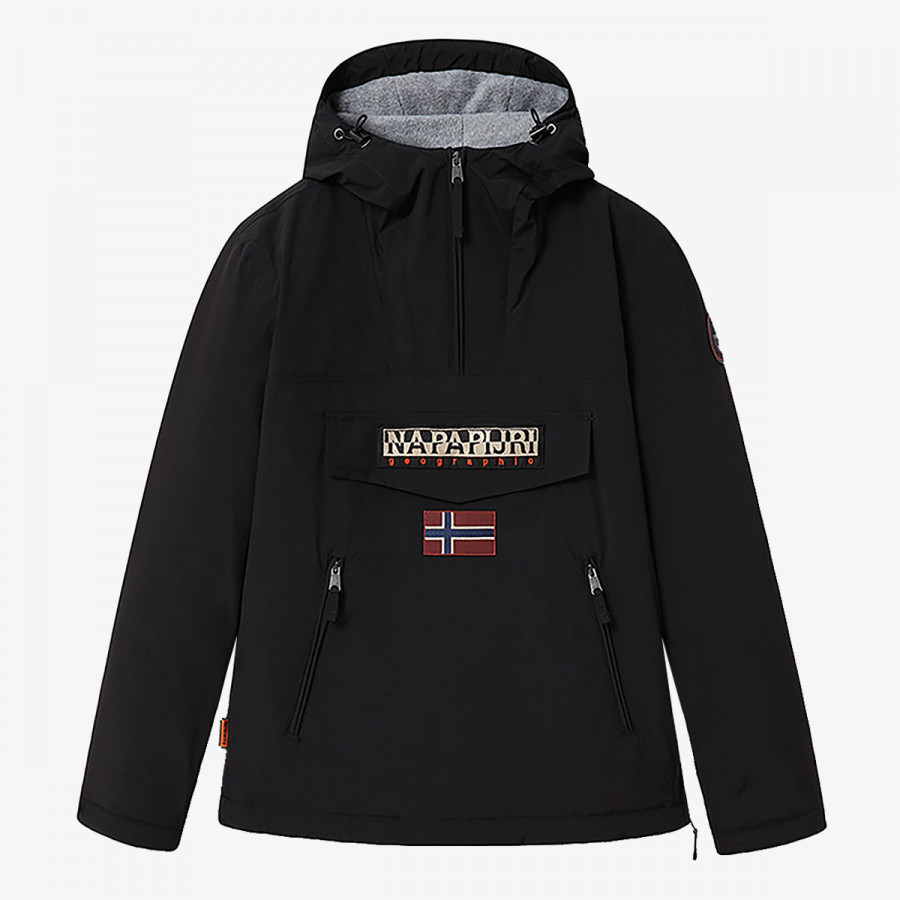 NAPAPIJRI Jakna NAPAPIJRI RAINFOREST POCKET 1 BLACK 041