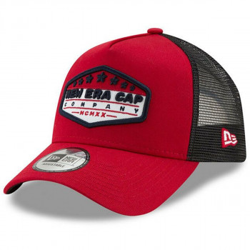 KAPA-CAP PATCH TRUCKR NEWERA REDBLKWHI