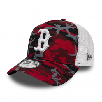 NEW ERA Kačket CAMO TRUCKER BOSRED