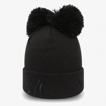 NEW ERA Kapa FEMALE DOUBLE POM CUFF KNIT