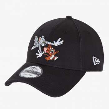 NEW ERA kapa TOM AND JERRY 9FORTY BLK