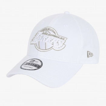 NEW ERA Kačket NE METALLIC LOGO 9FORTY LOSLAK WHI
