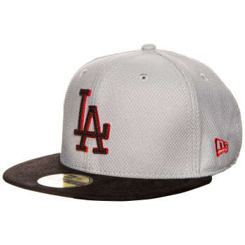 DIAMOND SUEDE LOS ANGELES DODGERS GRAY/BLACK/HOT RED