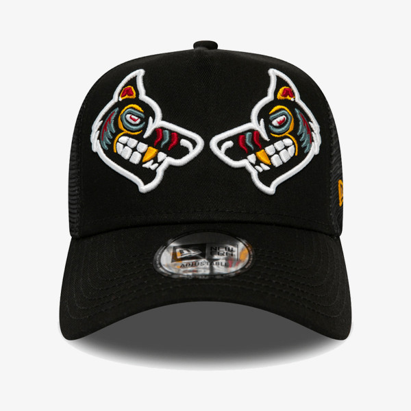 NEW ERA Sepci KAPA NE TATTOO PACK AF TRUCKER BLK