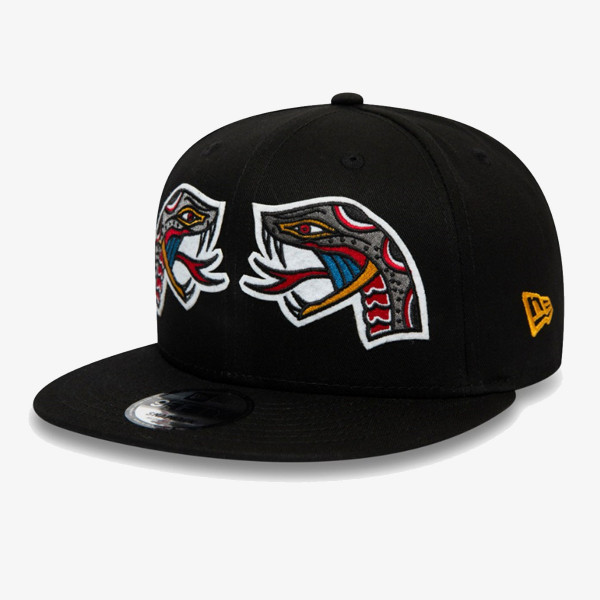 NEW ERA Sepci KAPA NE TATTOO PACK 9FIFTY BLK