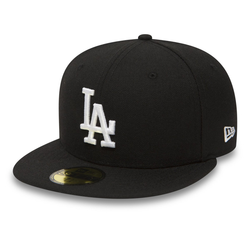 NEW ERA Kačket MLB BASIC LA DODGERS BLACK-WHITE