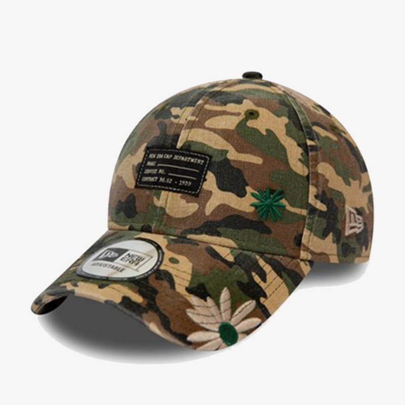 NEW ERA Kačket KAPA MILITARY FLOWER 9FORTY NE