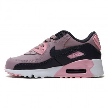 GIRLS' NIKE AIR MAX 90 LEATHER (PS) PRE-SCHOOL SHOE