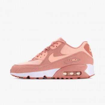 GIRLS' NIKE AIR MAX 90 SE MESH (GS) SHOE