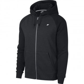NIKE pulover 928475-010 M NSW OPTIC HOODIE FZ