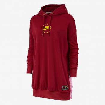 NIKE Суитшърти W NSW NSP HOODIE DRESS PK