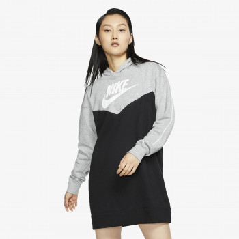 NIKE Haljina W NSW HRTG HOODIE DRESS SB
