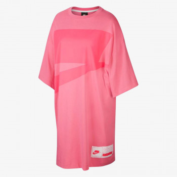 NIKE Majica W NSW NSW DRESS SS OVERSIZE