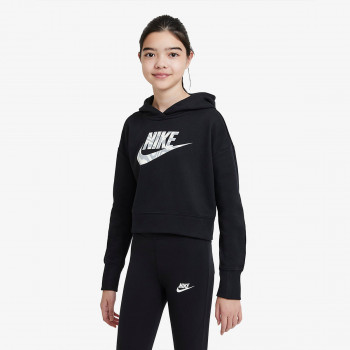 NIKE Dukserica Sportswear Older Kids' (Girls') Cropped Hoodie