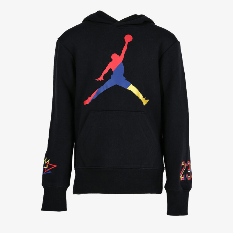 NIKE Hanorace JORDAN JDB SPORT DNA II HBR FLEECE PO