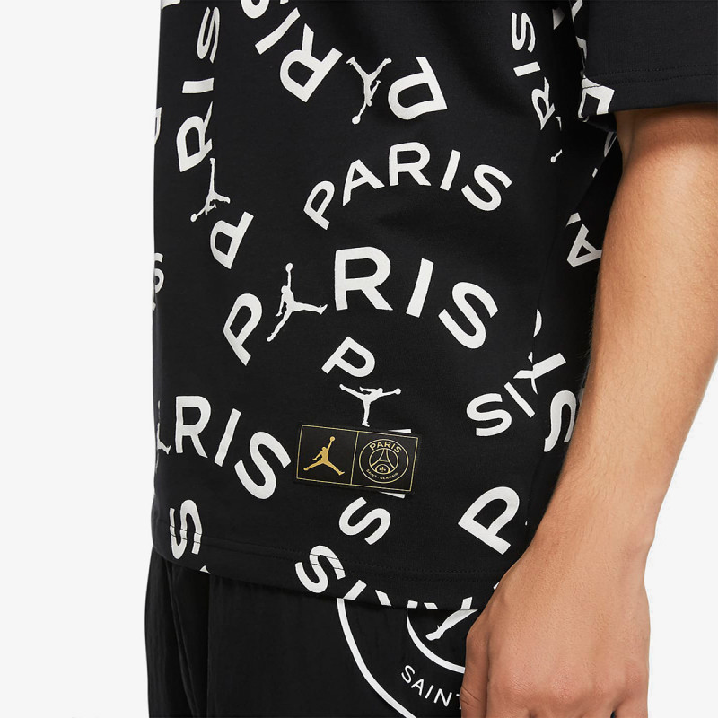 NIKE Majica JORDAN PARIS SAINT-GERMAIN ALLOVER PRINT JOCK TAG