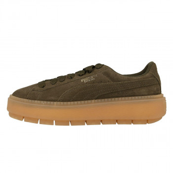 SUEDE PLATFORM RUGGED WN'S