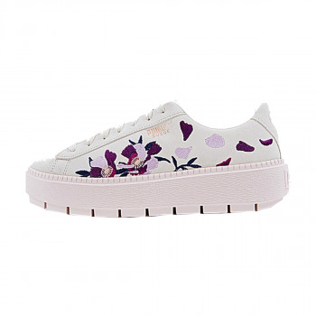 SUEDE PLATFORM TRACE FLOWERY WHISPER