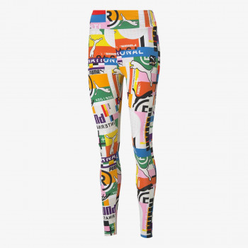 PUMA Helanke INTERNATIONAL PRINTED LEGGINGS