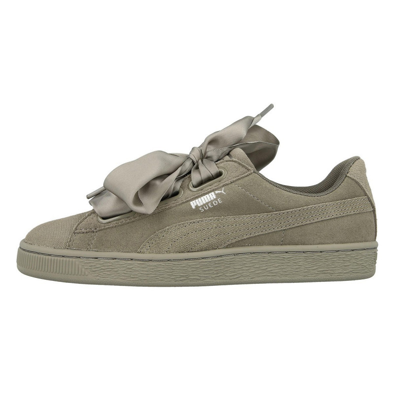 SUEDE HEART PEBBLE WN'S
