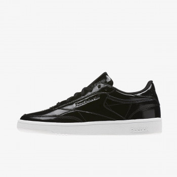 Reebok Patike CLUB C 85 PATENT BLACK/WHITE