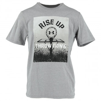 UNDER ARMOUR Тениска TOPS-UA BBALL RISE UP THROW DOWN