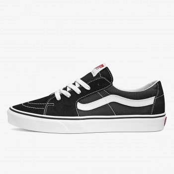 UA SK8-LOW BLACK/TRUE WHIT