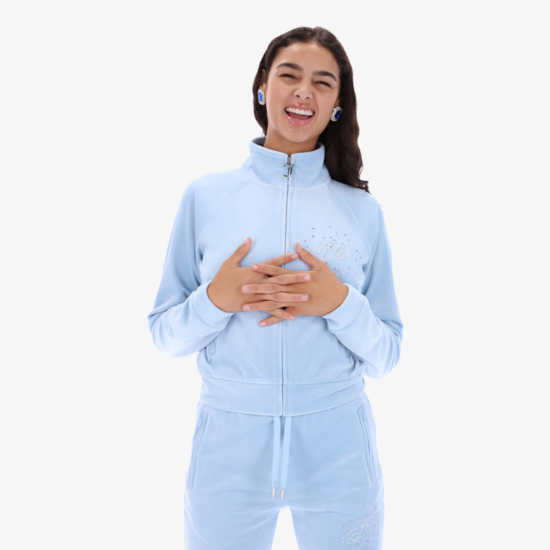 JUICY COUTURE Dukserica TANYA SCATTER TRACK TOP